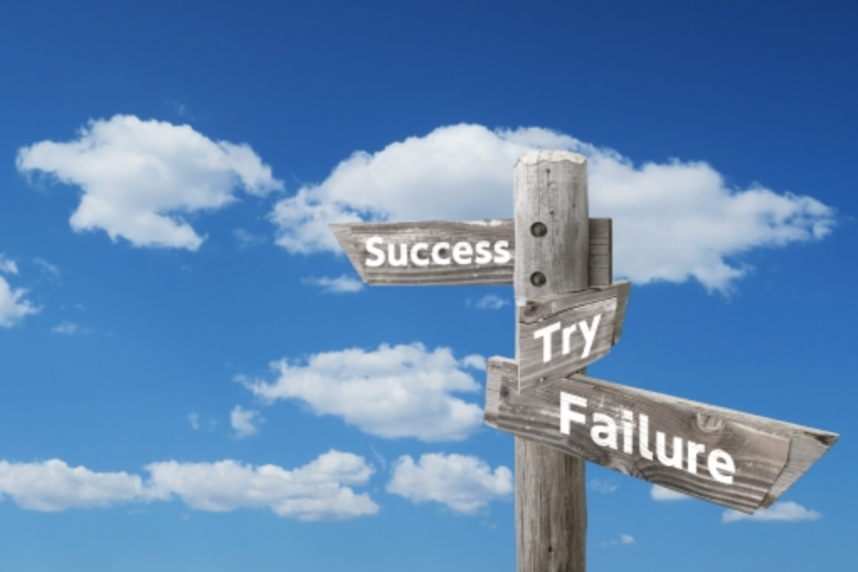 成功の矢印