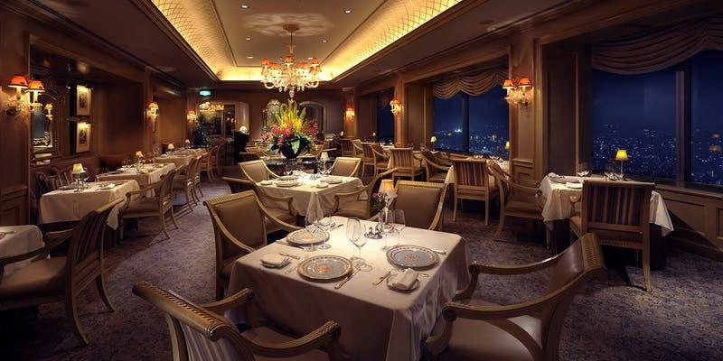 ル シエール/横浜ロイヤルパークホテル 68階  みなとみらい駅 徒歩3分  フランス料理
